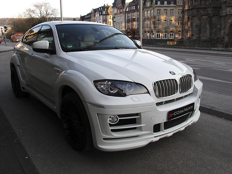 Bmw X6 Xdrive35d Hamann Tycoon Evo 360ps White